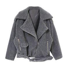 Storm Rider Jacket (740 RON) ❤ liked on Polyvore featuring outerwear, jackets, coats, coats & jackets, grey, gray jacket and grey jacket