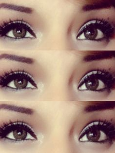 Eyes  #beautiful,  #eyebrows,  #brown eyes