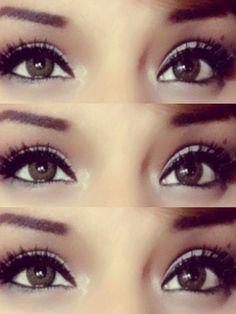 Eyes  #beautiful,  #eyebrows,  #brown eyes
