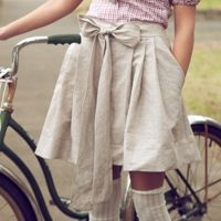 Bow on bycicle