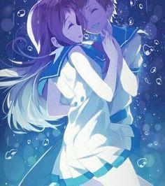 Nagi no Asukara Manga Mermaid, Manga Cute, Cute Anime Pics, Cute Anime Couples, I Love Anime, Awesome Anime, Animes To Watch, Animes Manga, Manga Anime