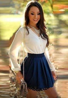 White Patchwork Lace Hollow-out Fashion Mini Dress