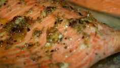 Broiled Steelhead Trout With Rosemary Lemon And Garlic Recipe - Genius Kitchen