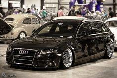 Audi Avant on BBS wheels - Low. Audi Wagon, Wagon Cars, Audi A4 B7, Audi S4, Bbs Wheels, Custom Wheels, Custom Cars, Sweet Cars, Autos
