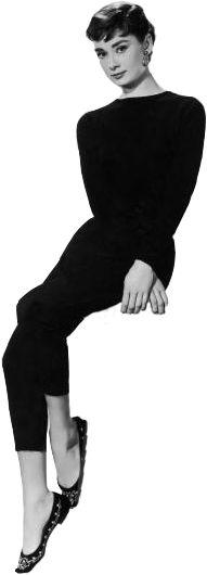 Audrey Hepburn sitting png