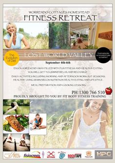 Weekend Fitness and Wellbeing Retreat