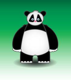 Only a panda