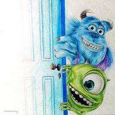 Monsters Inc ▪ Vivian Wong ☆