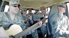 Country Music Lyrics - Quotes - Songs Six-string soldiers - Soldiers' Impromptu Performance Of 'Wagon Wheel' Will Make Your Jaw Drop - Youtube Music Videos https://countryrebel.com/blogs/videos/soldiers-impromptu-jam-session-of-wagon-wheel-will-make-you-melt