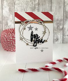 For You Card by Danielle Flanders for Papertrey Ink (October 2015)