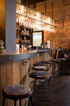 The Castello Plan is great for brunch, cocktails, dinner, everything. Check out Mussels Monday and their happy hour.