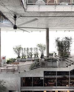 いいね!6,568件、コメント59件 ― Eva Tsangさん(@thetrottergirl)のInstagramアカウント: 「The Commons, an open-air space filled with artisan cafes and eateries #bangkok #thailand」