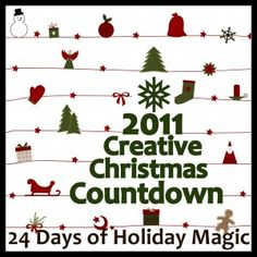 Creative Christmas Countdown starting 12/1
