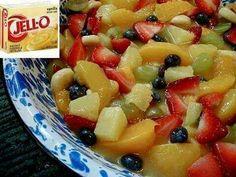 Favorite fruit salad using lemon pudding instead of vanilla