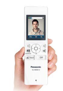 Video intercom van panasonic
