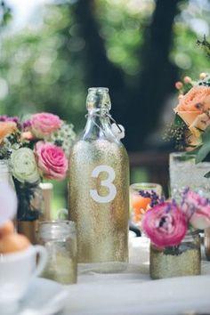 DIY Glitter-ized Champagne