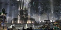 """BeefJack   Star Wars 1313 dev: Coruscant underworld """"a city made up of the bad part of town"""""""