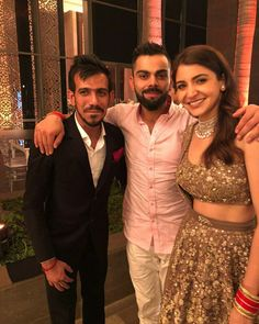 Virat Kohli and Anushka Sharma at Yuvraj Hazel wedding in Goa