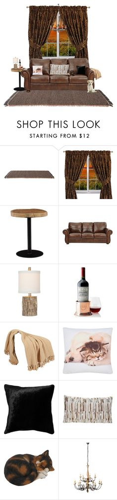 """""""Untitled #858"""" by ludya ❤ liked on Polyvore featuring interior, interiors, interior design, home, home decor, interior decorating, Kettal, Sherry Kline, Moe's Home Collection and Mark & Graham"""