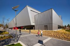 Cal State Northridge Recreation Center Solid West Facade