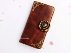 iPhone 5 Wallet case  Floral iphone 4 case  by iFashionAccessory, $18.98