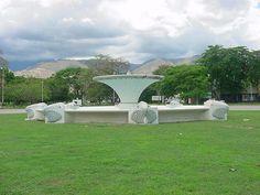 Fuente de la UCV en Maracay, #Venezuela