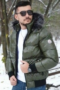 Geaca Fas North Kaki Winter Jackets, Fit, Casual, Fashion, Winter Coats, Moda, Winter Vest Outfits, Shape, Fashion Styles