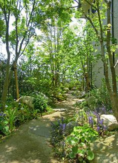 Moon Garden, Dream Garden, Home And Garden, Plant Design, Garden Design, Coral Life, Meditation Garden, Home Landscaping, Japanese House