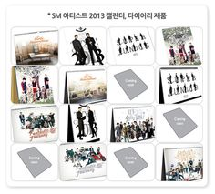 SM Entertainment to release 2013 calendar featuring label artists