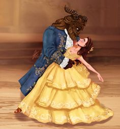 Disney Beauty and the Beast/Prince with color Sketch here -> [link] (with more info) My FIRST time drawing/coloring both of them! 'Belle and Prince' Colored Beauty And The Beast Costume, Belle Beauty And The Beast, Deco Disney, Disney Fan Art, Beauty Art, Beauty Women, Cute Disney Pictures, Beauty And The Best, Disney Girls