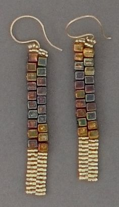Show stopper earrings I call DANGLING RADIANCE - Lone and thin - ear wires