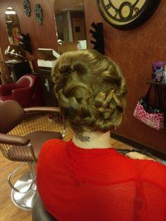 Wedding braid by ashley von eye