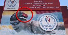 Gençlik ve Spor Bakanlığı'ndan 'Hatalı' Afiş: ABD'li Dünya Rekortmeni Yüzücü Fotomontajla Türk Oldu