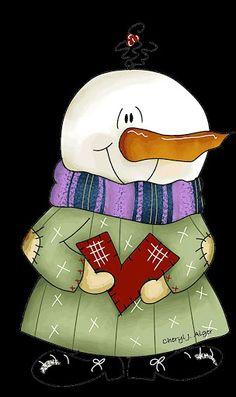 Snowman #clipart
