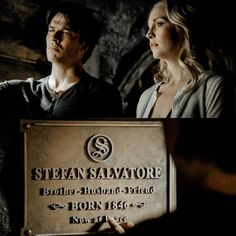 """1,493 Likes, 35 Comments - TVD/TO (@originaalsdiaries) on Instagram: """"8x16. Stefan Salvatore and Bonnie Bennett saved the world. RIP Stefan Salvatore. Gone but never…"""""""