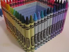 Crayola box #crafts