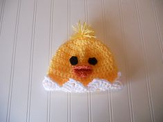 Ravelry: Easter Baby Chick Hat pattern by Jennie Claver
