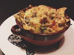 Lasagne di pane carasau, verdure e pecorino sardo #cucinobenissimo #toeat  http://cucinobenissimo.wordpress.com/2014/08/04/lasagne-di-pane-carasau-verdure-e-pecorino-sardo/
