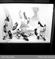 Oscarias monter hos Örebro Expon, 1955. Foto: Knut Borg