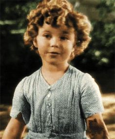 Shirley Temple. #cutie #gif #curls
