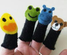 Manusky-prstove z rukavice Slippers, Handmade, Sneaker, Hand Made, Craft, Slipper, Flip Flops