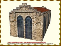 Model of Role of Old Warehouse All scales available