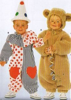 Rooster /& Condor Costume Tom Arma McCall/'s 8381 Sewing Pattern Toddler/'s Duck