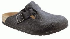 Birkenstock clogs Boston from Wool in anthracite with a regular insole Crocs, Unisex, Birkenstock Boston Clog, Timberland Mens, Buy Shoes, Winter Boots, Comfortable Shoes, Nike Men, Handbags