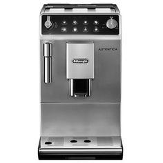 DeLonghi Silver autentica bean to cup coffee machine ETAM29.510.SB | Debenhams