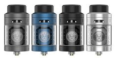 Zeus RTA by GeekVape  The Zeus RTA by GeekVape is an all-new leakproof RTA designed to accommodate the RTA lovers out there. It has 3D airflow and eliminates leakage issues. As well as top airflow, the RTA has a top cap fill system that's convenient for refill access. The top airflow design allows for a smooth and cool hit more for flavor and less of cloud production.