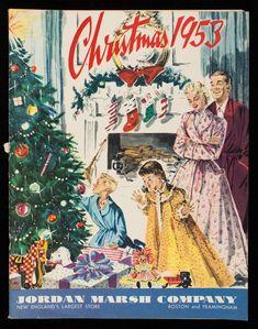 Jordan Marsh Christmas Catalog, Boston and Framingham, Massachusetts, 1953 1950s Christmas, Vintage Christmas Images, Vintage Holiday, Christmas Pictures, Christmas Scenes, Noel Christmas, Christmas And New Year, Xmas, Christmas Comics