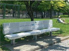 advertising, bench, creative, Examples, guerilla, inspiration, rest, FedEx