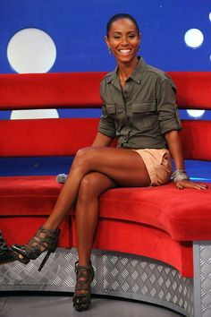 """Jada Pinkett Smith (actress and wife of actor Will Smith) -- hasn't touched alcohol for eight years after fearing her drinking habits would get out of control. """"I found myself drinking two bottles of wine on the couch and I said, 'Jada, I think we've got a problem here.'"""" she revealed. """"From that day on I went cold turkey; I haven't had a drink in eight years."""""""