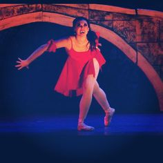 Lucy gone wild as a vampire in NBT's Dracula